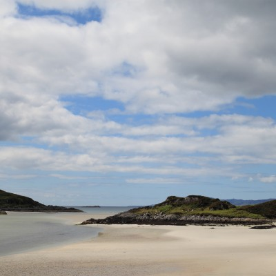 Silver sands of Morar 1