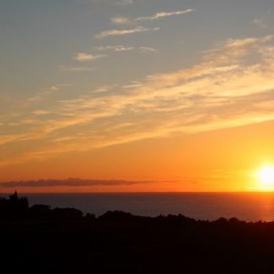 Coucher de soleil sur Glengorm 2