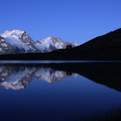 Refuge et lac du Goléon