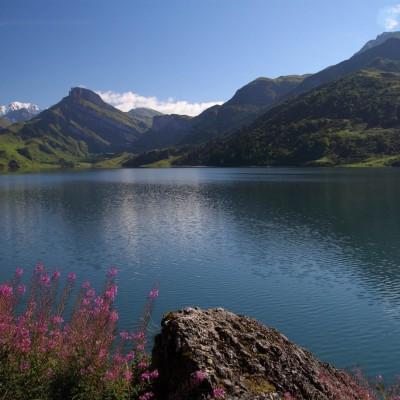 Lac de Roselend (Savoie)