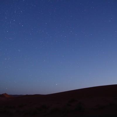 Dunes sous les étoiles
