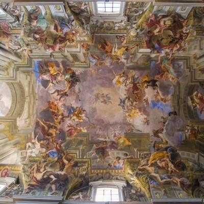 Chiesa di Sant'Ignazio de Loyola, plafond