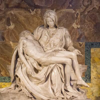 Pieta, Michel Ange, basilique St Pierre