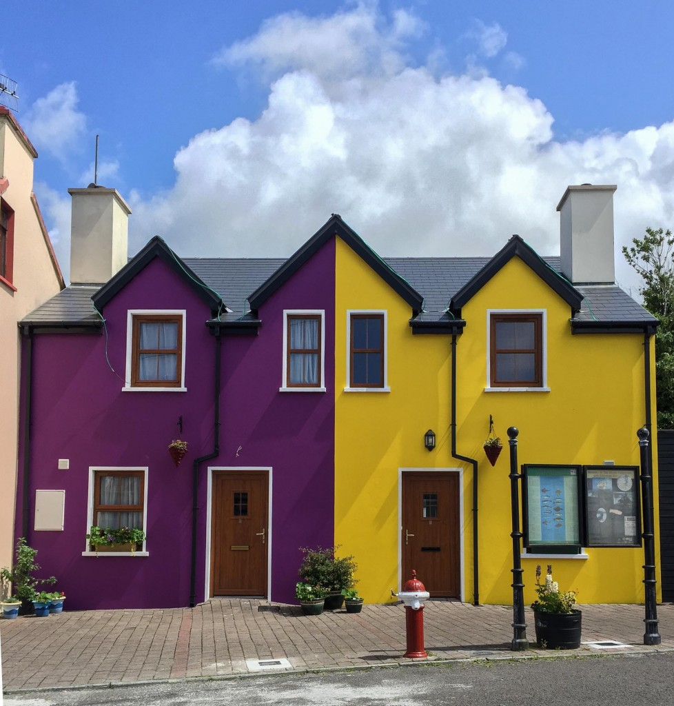 Maison colorée, Beara Peninsula