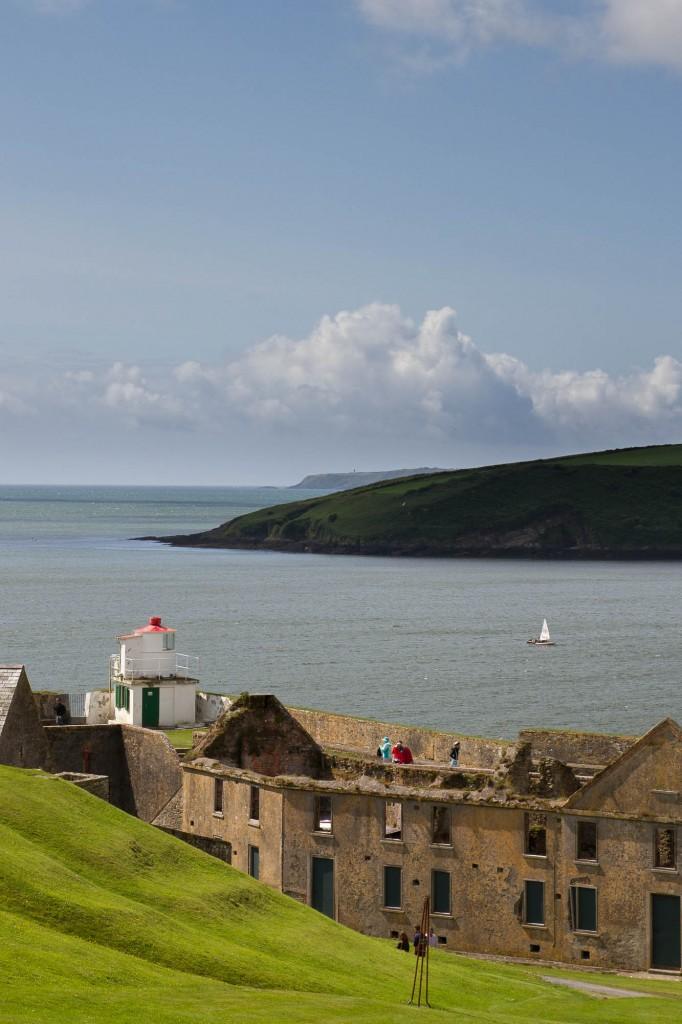 Charles Fort, vue sur la péninsule de CastlePark