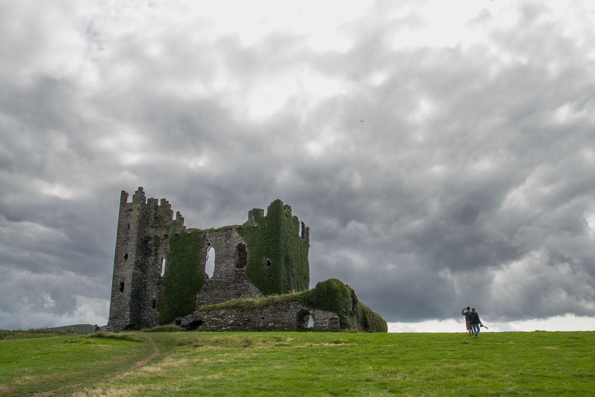 Ballicarbery Castle, côté pile