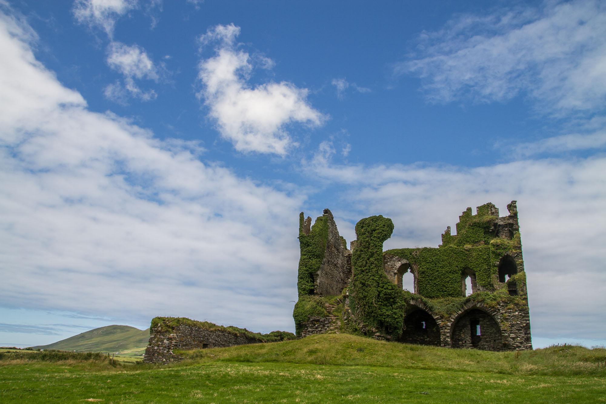 Ballicarbery Castle, côté face