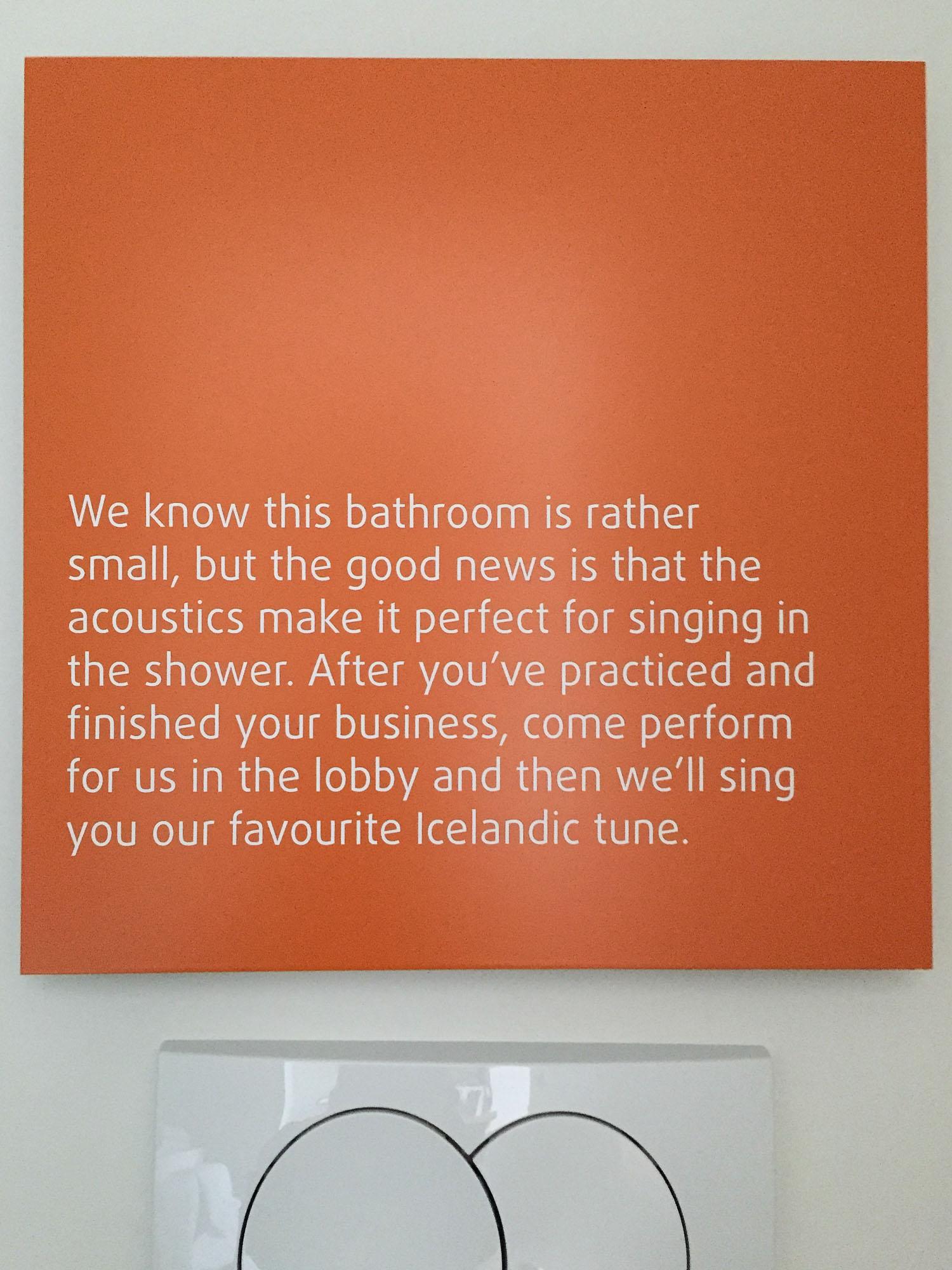 Salle de bain, Hôtel Marina