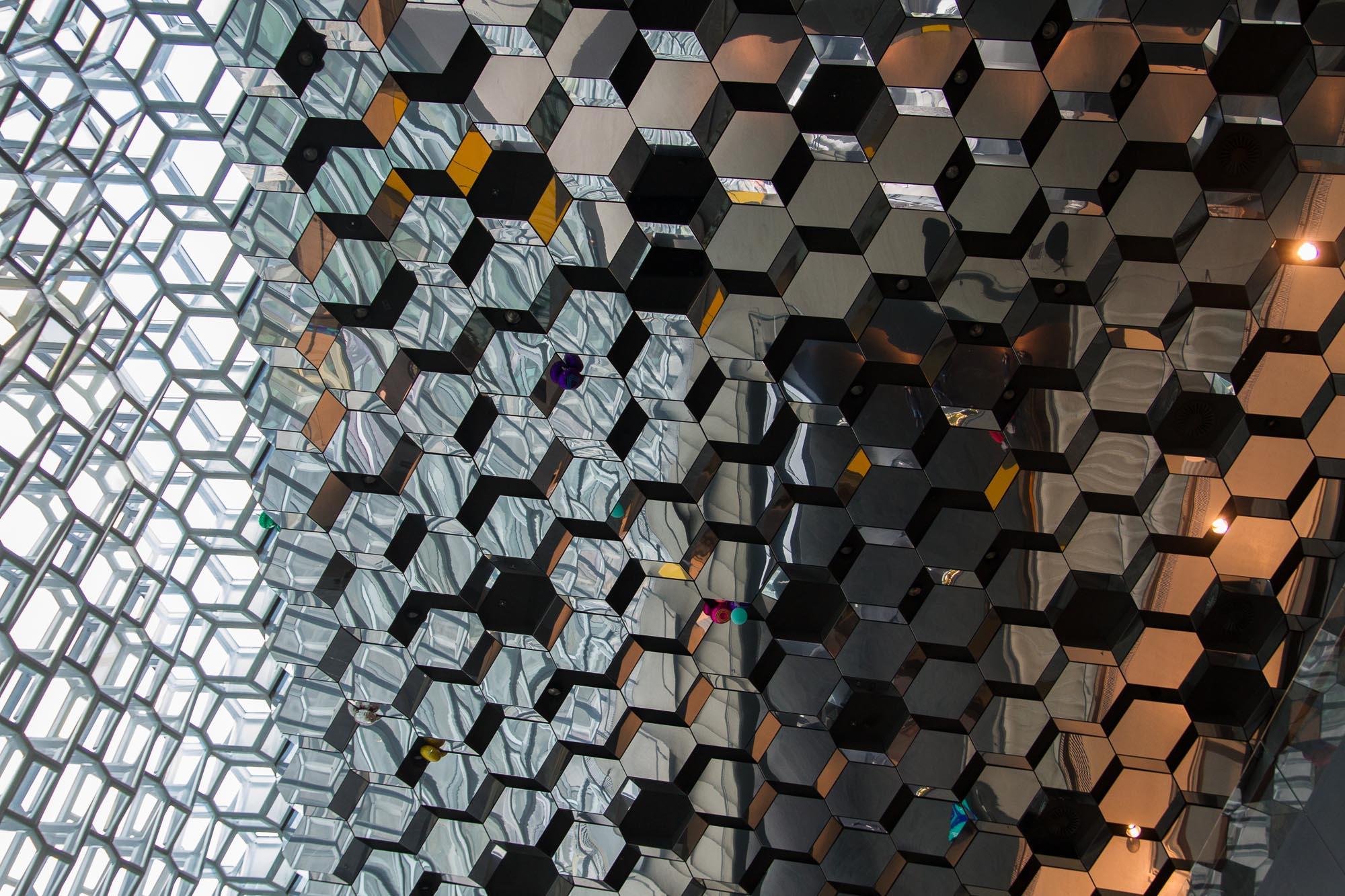 Plafond, Harpa, Reykjavik