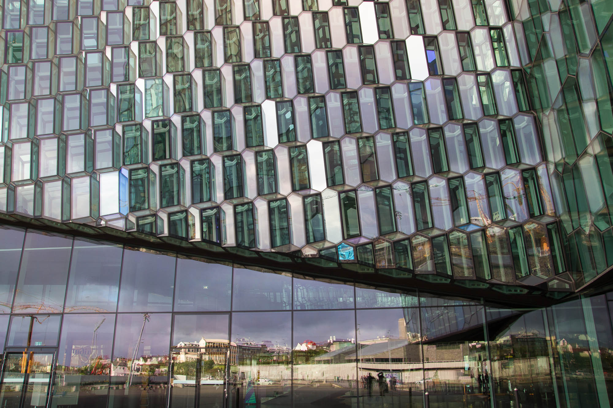 Façade, Harpa, Reykjavik (1)