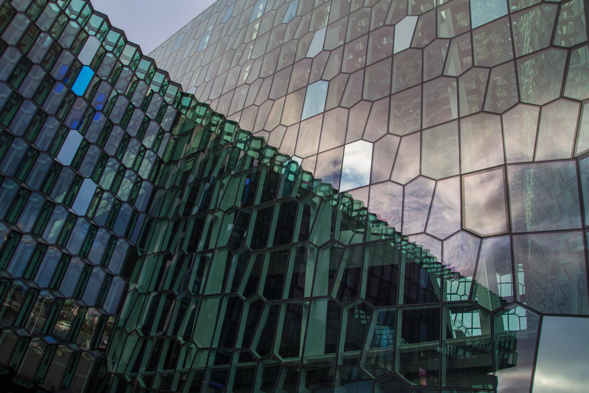 Façade, Harpa, Reykjavik (2)