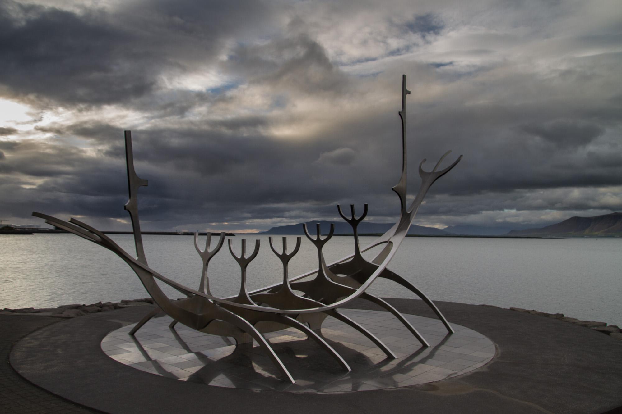 """""""Sun Craft"""", Reykjavik"""