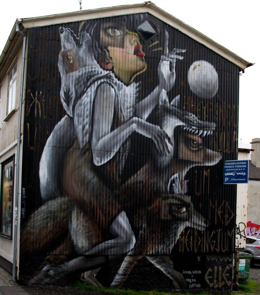 Street art, Reykjavik (2)