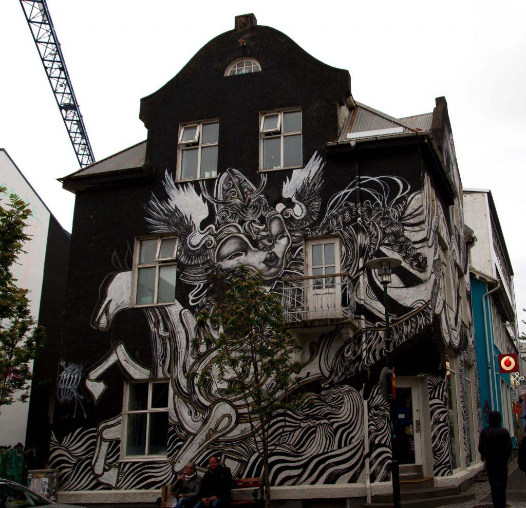 Street art, Reykjavik (1)
