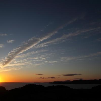 Coucher de soleil sur Glengorm 1