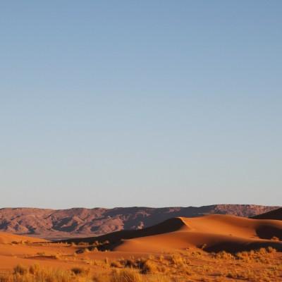 Dunes au couchant