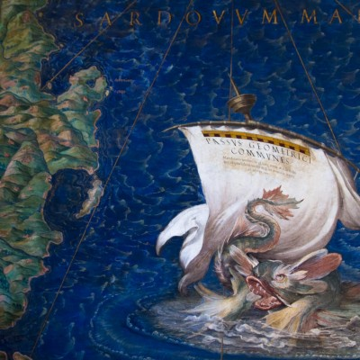 Galerie des cartes géographiques, musées du Vatican