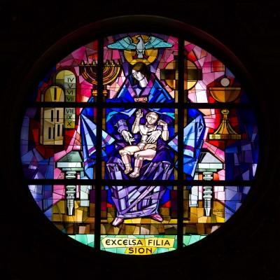 Vitrail, basilique Sainte Marie Majeure